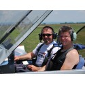 Flying lesson with guests in Brasov