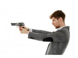 Initiation in target shooting in Campulung Moldovenesc