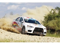 VIP Experience with a rally car in Bucharest