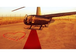 Romantic flight – Helicopter flight for 2