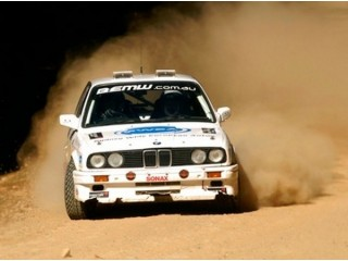 Experience with a rally car in Bucharest