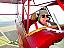 Vintage Biplane Flight over Dracula's Tomb