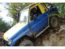 Off-road lesson in Bistrita
