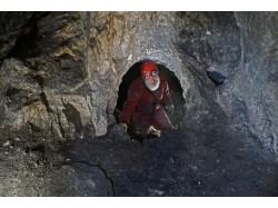 Cave exploring in Transylvania