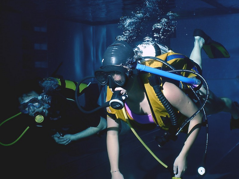 Initiation in Scuba Diving